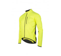 Fusion Fietsjack Unisex Geel / S1 CYCLING JACKET YELLOW