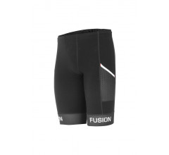Fusion Triathlon broek zonder bretels Unisex Zwart / SLI TRI TIGHTS POCKET  BLACK/BLACK
