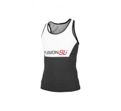 Fusion Triathlon top Dames Wit / WMS SLi TRI TOP WHITE/BLACK