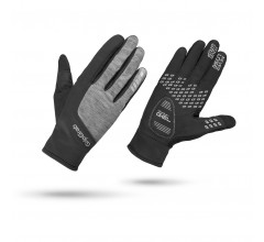 GripGrab Fietshandschoenen winter Dames Zwart Grijs / Women's Hurricane Black/Grey