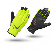 GripGrab Fietshandschoenen winter waterdicht Hi-vis Fluo  / Cloudburst Waterproof Hi-Vis Glove Fluo Yellow