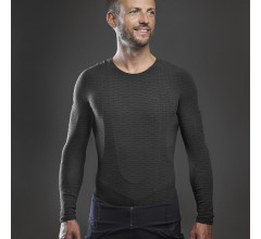 GripGrab Ondershirt Lange mouwen Zwart  / Freedom Seamless Thermal Base Layer LS Black