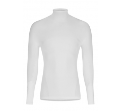 Megmeister Running High Neck Base Layer White