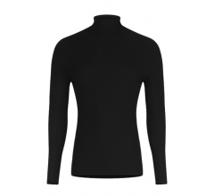 Megmeister Running High Neck Base Layer Black