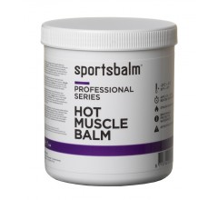 Sportsbalm Hot Muscle Balm 500ml (grootverpakking)