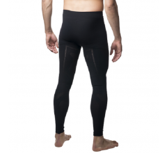 Megmeister Warm Base Layer Tights Men Black