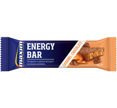 MAXIM ENERGY BAR CARAMEL CHOCOLATE (25x55 gr.)  20 stuks + 5 gratis
