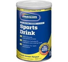 Maxim Hypotonic Sports Drink Lemon 480 gr.