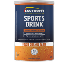 Maxim Hypotonic Sports Drink Orange 480 gr.