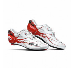 Sidi Race Fietsschoenen Wit Rood Unisex / Shot White/Red