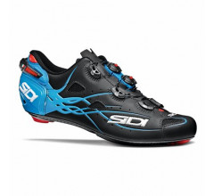Sidi Race Fietsschoenen Zwart Blauw Heren / Shot Matt Matt Black/Light Blue