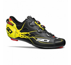 Sidi Race Fietsschoenen Zwart Fluo Heren / Shot Matt Matt Black/Yellow Fluo