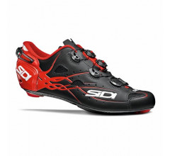 Sidi Race Fietsschoenen Zwart Rood Heren / Shot Matt Matt Black/Red