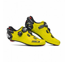 Sidi Race Fietsschoenen Fluo Zwart Heren / Wire 2 Carbon Yellow Fluo/Black