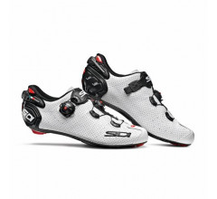 Sidi Race Fietsschoenen Wit Zwart Heren / Wire 2 Carbon Air White/Black