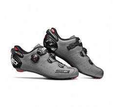 Sidi Race Fietsschoenen Grijs Zwart Heren / Wire 2 Carbon Matt Matt Grey/Black