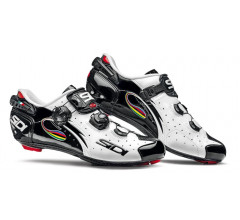 SIDI WIRE CARBON Vernice White-Black