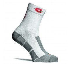 Sidi Fietssokken winter Wit Grijs Unisex / Warm Socks (235) White/Grey