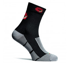 Sidi Fietssokken winter Zwart Grijs Unisex / Warm Socks (235) Black/Grey