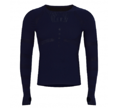 Megmeister Cycling Crewneck Base Layer Navy