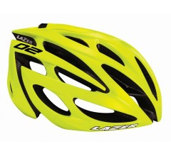 Lazer O2 CE / Fietshelm Race Flash Yellow