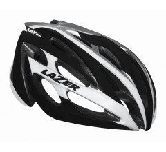 Lazer O2 CE / Fietshelm Race White/Black