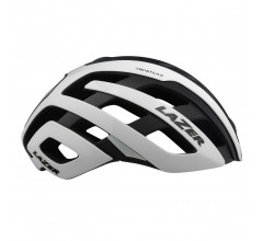 Lazer Road Helm Century Wit Zwart Met Led