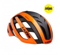 Lazer Road Helm Century MIPS Flash Oranje Zwart Met Led
