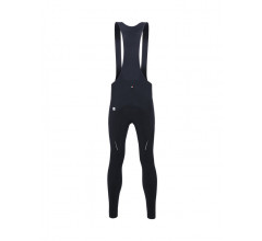 Santini Fietsbroek lang met bretels Heren Zwart - Raro Bib-Tights Black