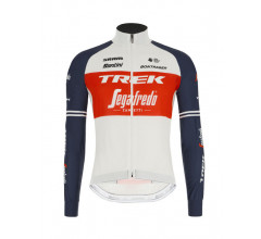 Santini Windjack Heren - Trek Segafredo 2021 - Wind Jacket Red