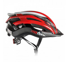 Zero RH+ Fietshelm Rood Wit - RH+ Helmets Two In One Shi Red/Shi White/Shi Black 21