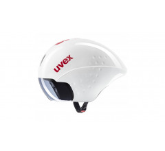 Uvex Fietshelm Race Wit Rood Unisex - UV race 8-White/Red