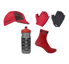 gripGrab fietskleding accessoires rood