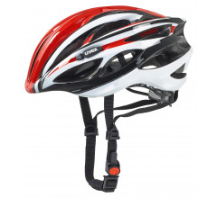 Uvex Fietshelm unisex Rood Wit / UV Race 1 Red/White