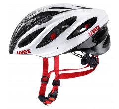 Uvex Fietshelm unisex Wit Zwart / UV Boss Race White/Black