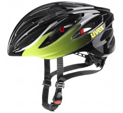 Uvex Fietshelm Race unisex Zwart Lime - Boss Race black lime
