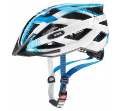 Uvex Fietshelm unisex Blauw Wit / UV Air Wing Blue/White
