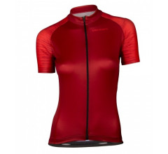 Vermarc Fietsshirt Korte mouwen Dames Bordeaux / SEISO Short Sleeves AERO � Bordeau/Red