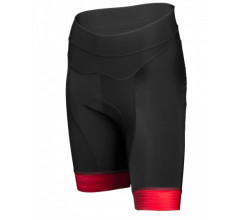 Vermarc Fietsbroek zonder bretels Dames Bordeaux / SEISO Non-Bib Short � Bordeau/Red