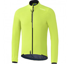 Shimano Performance stretchable windbreak fietsjack winddicht neon geel heren
