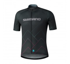 Shimano Shirt Team Zwart Heren