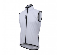Santini Windstopper mouwloos Wit Heren - Scudo Vest All-Round Core Protection White