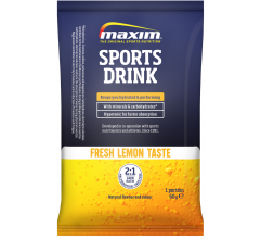 Maxim Sports Drink Sachet Fresh Lemon Taste - 60g
