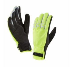 SealSkinz All Weather Cycle Glove  / Fietshandschoen Fluo Geel Zwart