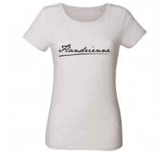 The Vandal Flandrienne Casual T-Shirt Dames Wit