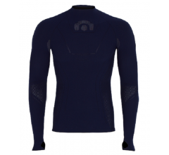 Megmeister Cycling Turtleneck Base Layer Navy