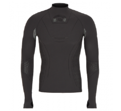Megmeister Cycling Turtleneck Base Layer Grey