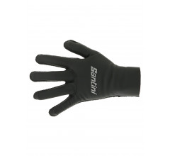 Santini Fietshandschoenen winter Zwart Unisex - Vega Extreme Winter Weather Proof Performance Gloves Black