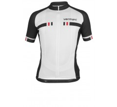 VERMARC Veloce Short Sleeves / Fietsshirt Wit