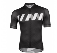 Vermarc Fietsshirt korte mouwen Heren Zwart Wit / WINN Short Sleeves SUMMER New - Black